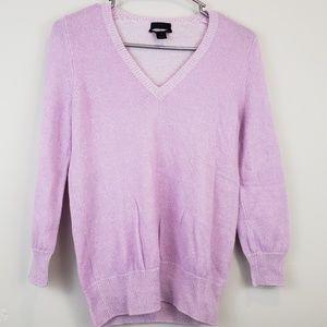 J Crew Cashmere Lavender Sweater Size S